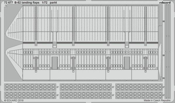 Eduard 72677 B-52 landing flaps 1/72 MODELCOLLECT