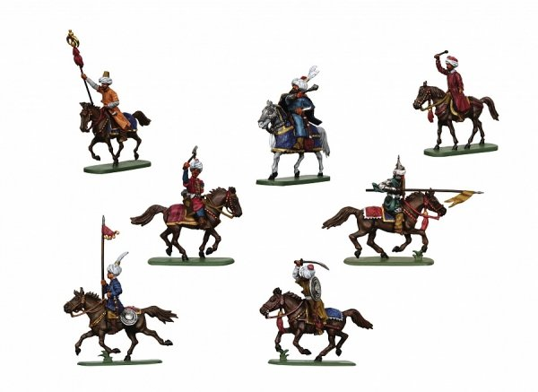 Zvezda 8054 Turkish Cavalry XVII A.D. 1/72