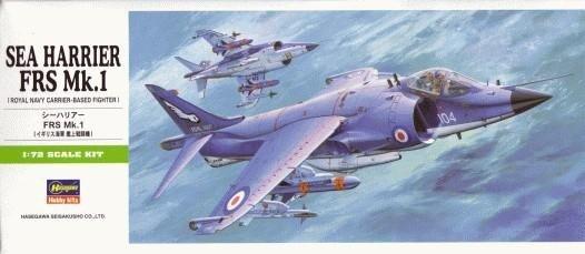 Hasegawa B5 Sea Harrier FRS Mk.1 (1:72)