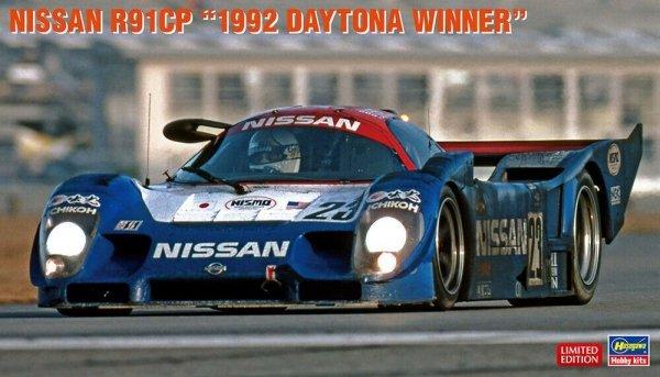 """Hasegawa 20424 Nissan R91CP """"1992 Daytona Winner"""" 1/24"""
