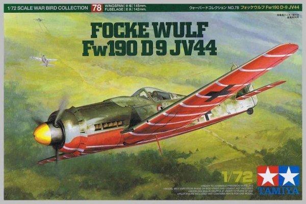 Tamiya 60778 Focke-Wulf Fw 190D-9 JV44 (1:72)