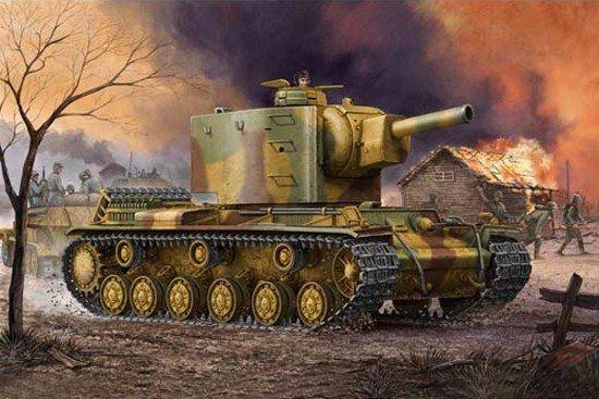 Trumpeter 00367 German Pz.Kpfm KV-2 754(r) Tank (1:35)