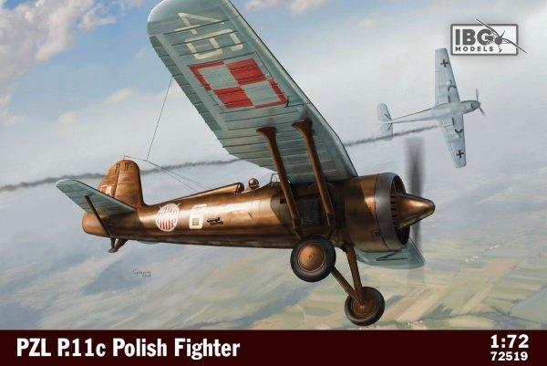 IBG 72519 PZL P.11c Polish Fighter 1/72
