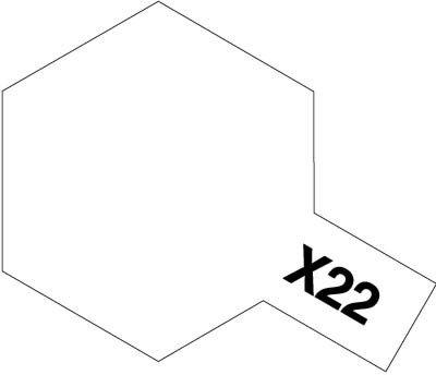 Tamiya X22 Clear (81522) Acrylic paint 10ml