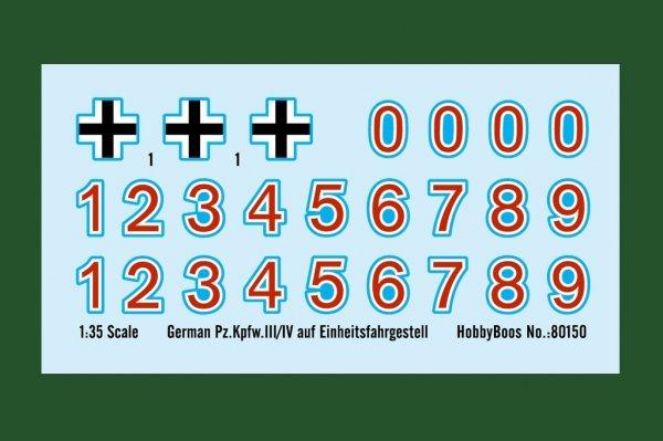 Hobby Boss 80150 German Pz.Kpfw.III/IV auf Einheitsfahrgestell 1/35