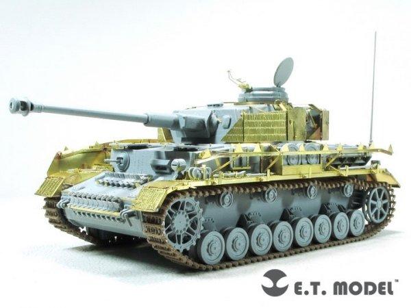 E.T. Model E35-290 WWII German Pz.Kpfw.IV Ausf.H w/Zimmerit Schurzen (Mid version) For DRAGON 1/35