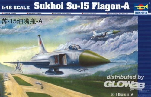 Trumpeter 02810 Sukhoi Su-15 Flagon-A (1:48)