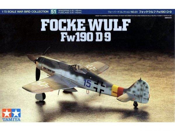 Tamiya 60751 Focke-Wulf Fw190D-9 1/72