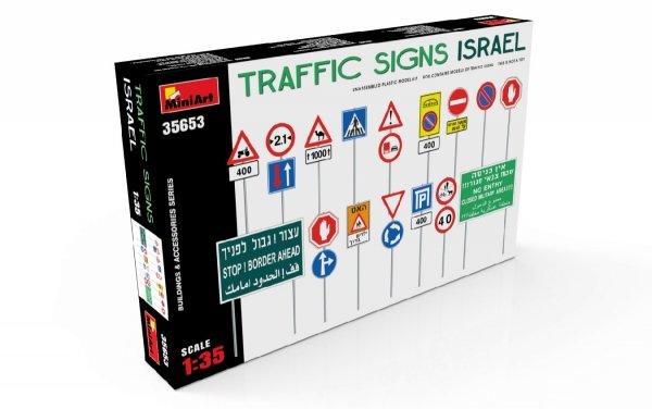Miniart 35653 TRAFFIC SIGNS. ISRAEL 1/35
