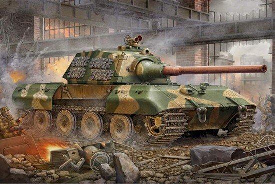 Trumpeter 00384 German Entwicklungsfahrzeug E 100 Super Heavy Tank (1:35)