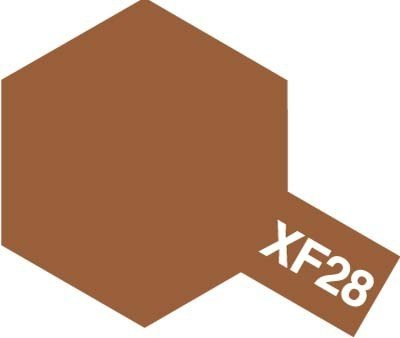 Tamiya XF28 Dark Copper (81728) Acrylic paint 10ml