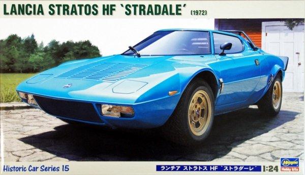 Hasegawa HC15 LANCIA STRATOS HF STRADALE (1:24)