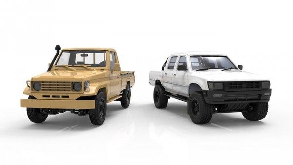 Meng Model VS-007 Pickup Set 1/35