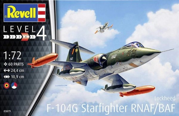 Revell 03879 F-104 G Starfighter RNAF/BAF 1/72