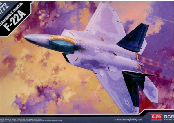 Academy 12423 F-22 A Raptor (1:72)