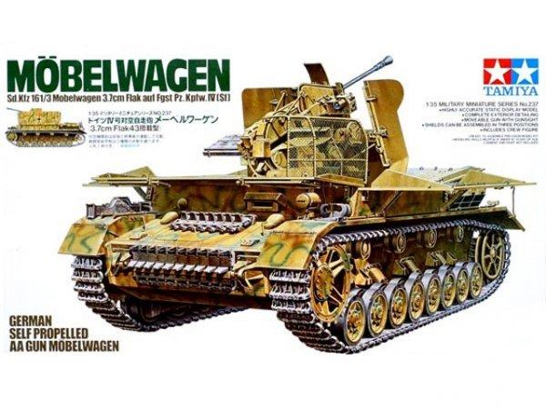 Tamiya 35237 German Self Propelled AA Gun Mobelwagen (1:35)