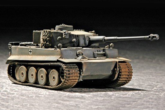 Trumpeter 07242 Tiger 1 tank(Early) (1:72)