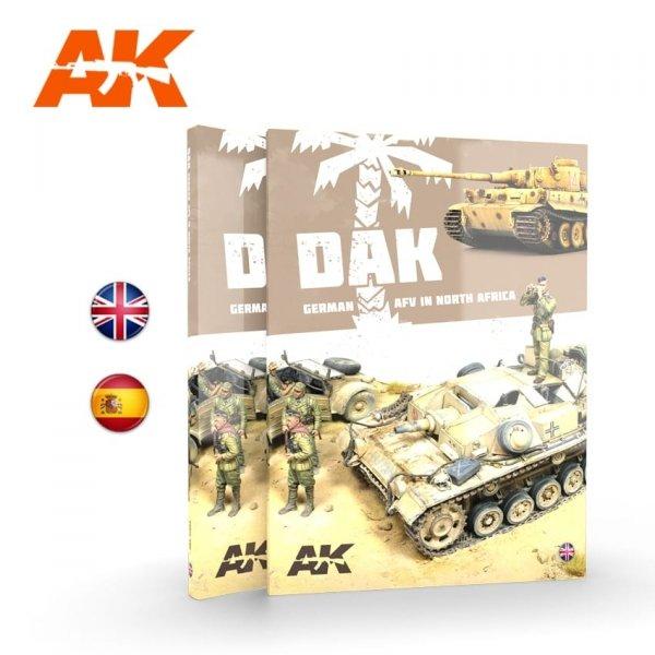 AK Interactive AK 912 DAK – german afv in North Africa