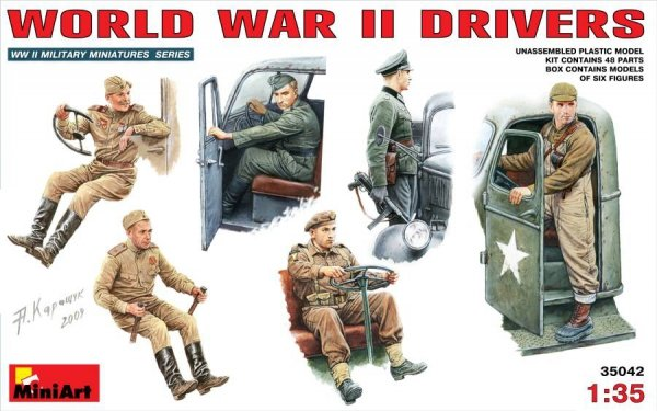 MiniArt 35042 World War II drivers (1:35)