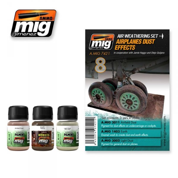 AMMO of Mig Jimenez 7421 AIRPLANES DUST EFFECTS