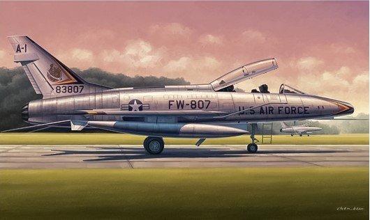 Trumpeter 02840 F-100F Super Sabre (1:48)