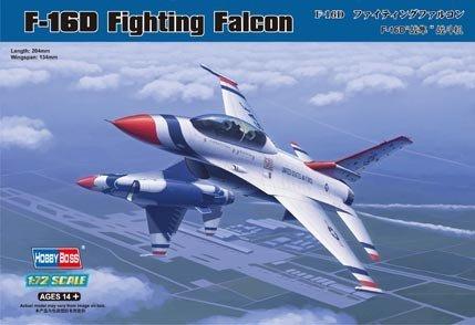 Hobby Boss 80275 F-16D Fighting Falcon (1:72)