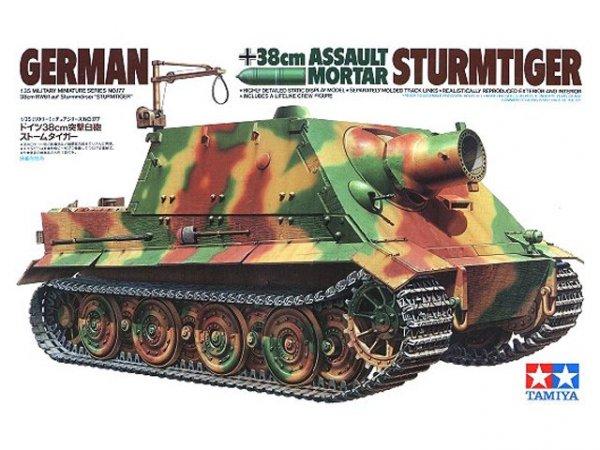 Tamiya 35177 German 38cm Assault Mortar Sturmtiger (1:35)