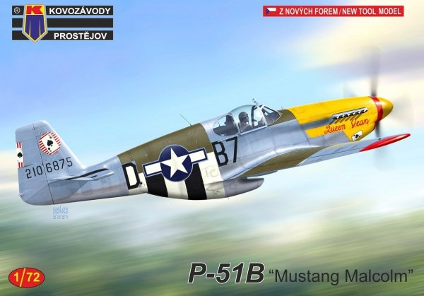 "Kovozavody Prostejov KPM0247 P-51B ""Mustang"" Malcolm"" 1/72"