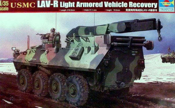 Trumpeter 00370 USMC LAV-R Light Armored Vehicle Recovery (1:35)