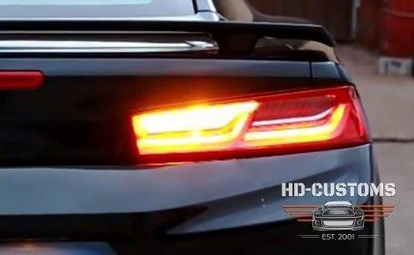 Zestaw do modyfikacji lamp tylnych Chevrolet Camaro 6 gen 2016-19