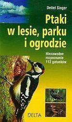 Ptaki w lesie parku i ogrodzie