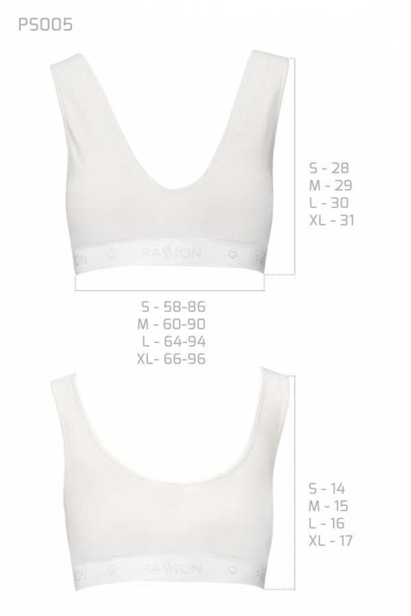 PS005 TOP white