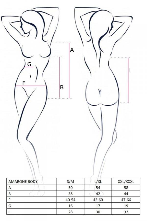 AMARONE BODY czarne body