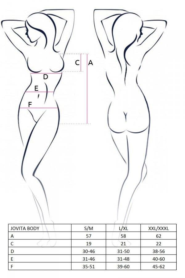JOVITA BODY białe body