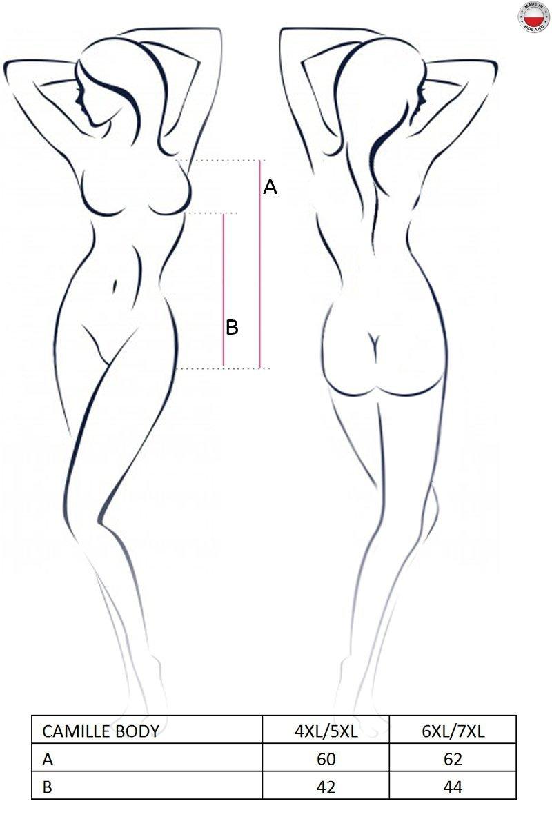 CAMILLE BODY czarne body