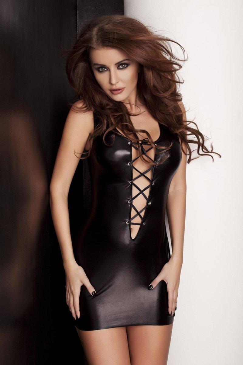 LIZZY DRESS czarna sukienka