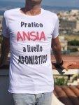 T shirt Uomo - Bianca con scritta