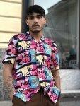 Camicia uomo Andy - Mezza manica - Camicia fantasia pop