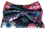 Papillon a fiori - con pochette - multicolor