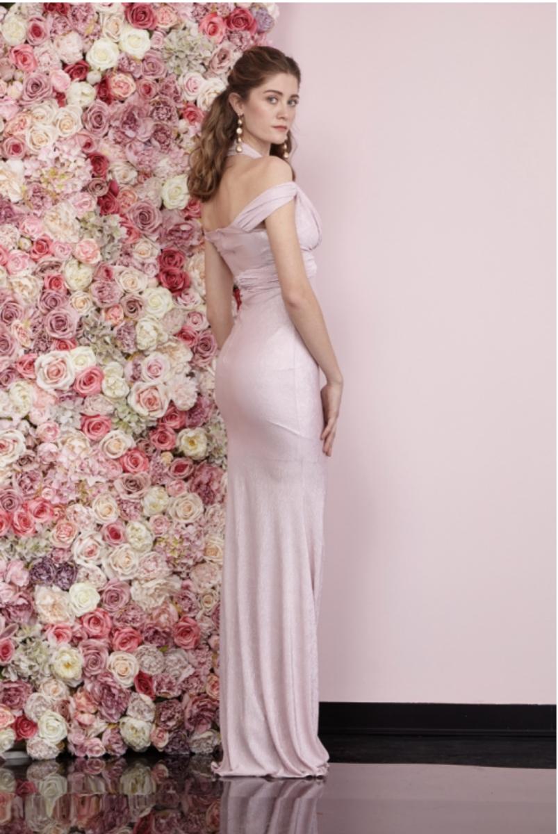 Vestiti Eleganti Rosa Antico.Vestiti Eleganti Abito Lungo Tosca Online Gogolfun It