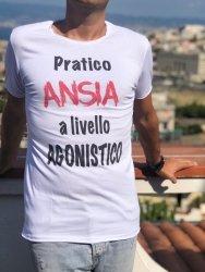 T shirt - Ironica - Ansia