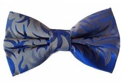 Papillon uomo grigio e blu - Farfallino Princip - Papillon uomo elegante