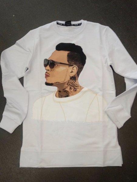 T shirt manica lunga, bianca - T shirt, maniche lunghe - Gogolfun.it