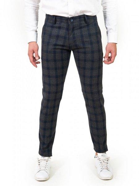 Pantalone  Uomo - Quadri - Key Jey -  Gogolfun.it