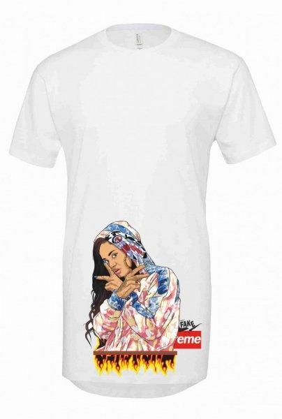 T shirt  lunga  - Rap - Girls