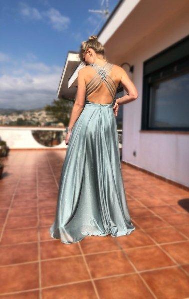 Suknie wieczorowe w kolorze tiffany - Sukienki na bal - Gogolfun.it