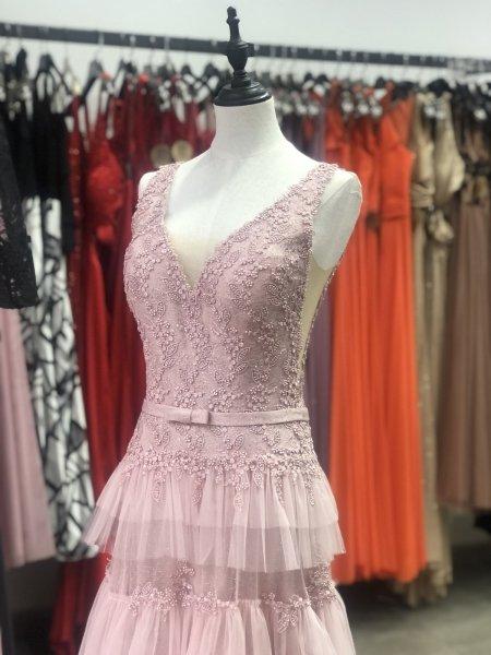 Vestito da cerimonia - Rosa - Principessa