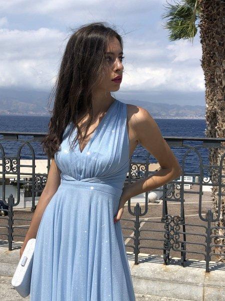 Vestiti donna azzurri - Negozio di abbigliamento donna - Reggio Calabria - Gogolfun.it