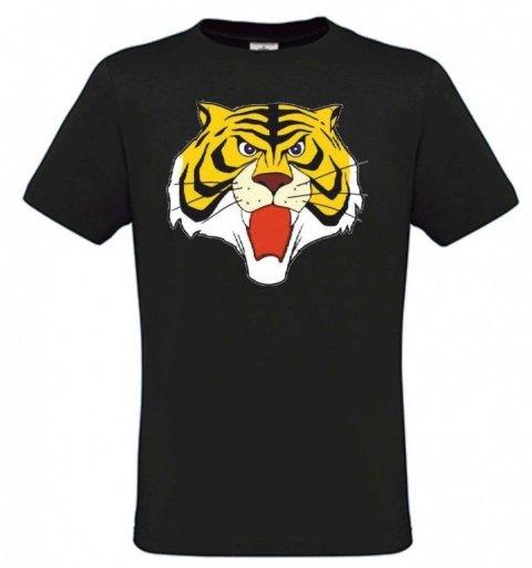 T shirt Uomo Tigre - Nera - Magliette Gogolfun.it