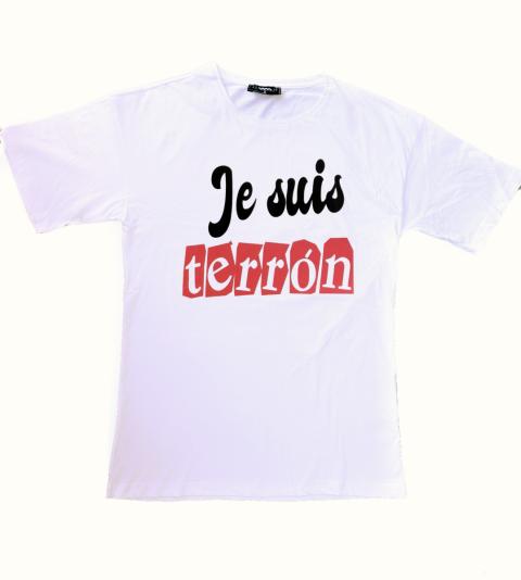 T shirt - Je suis  - Maglietta bianca - Online - Gogolfun.it